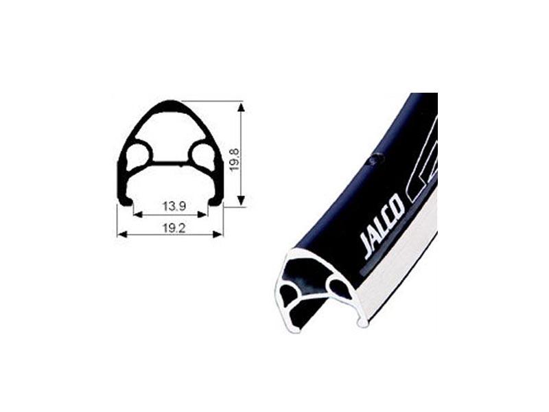 JALCO DRX-4000, 36H, 700C-cestovni, crni